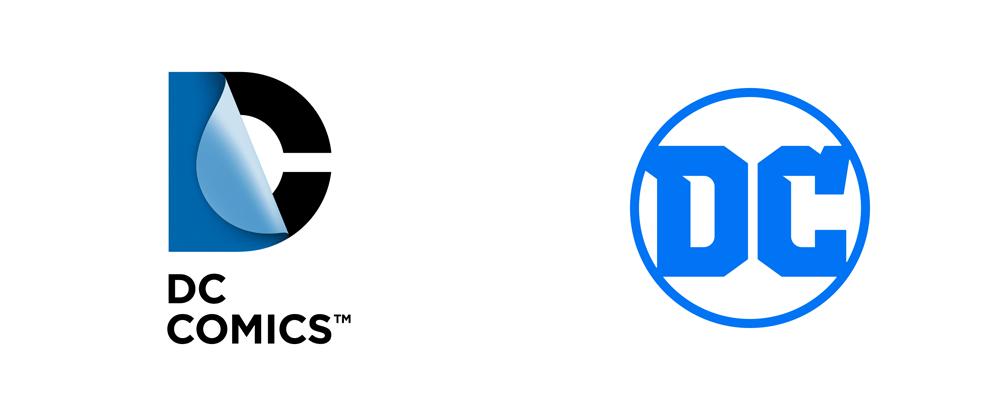 dc漫画出版社标志与vi设计_漫画出版商_logo设计